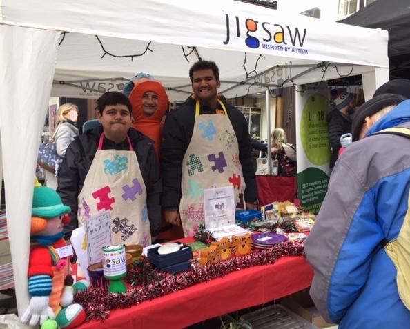 Jigsaw at Guildford Farmers Market