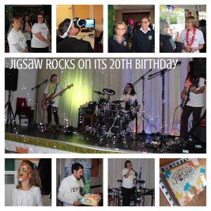 Jigsaw birthday party